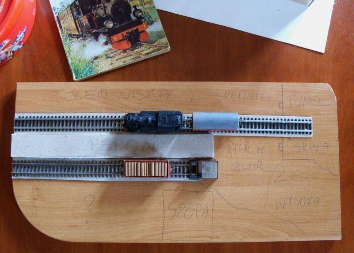 How to make a train diorama...