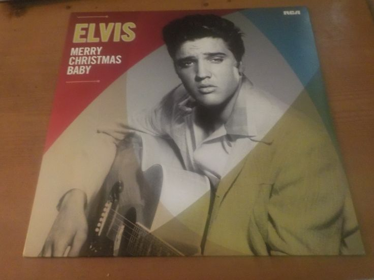 My first christmas record , a christmas album of Elvis