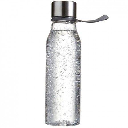 Waterfles Lean Een Tritan waterfles of bidon gemaakt van BPA-vrij kunststof met een roestvrijstalen dop. Door de lus aan het deksel is de fles handig mee ne nemen of eenvoudig aan bijvoorbeeld een hometrainer of een ander fitness-toestel te hangen. Daarnaast past de fles in de meeste bekerhouders van auto's en is eenvoudig schoon te maken. Geschikt om te bedrukken op de fles of om te lasergraveren op de dop. Leverbaar in drie verschillende kleuren. Inhoud: 570 ml.