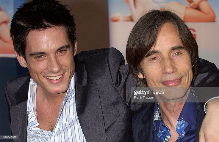Jackson Browne (R) and son Ethan arrive at the premiere of Touchstone Pictures' 'Raising Helen.'