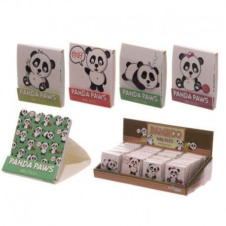 Boîte Limes à Ongles Détachables - Panda