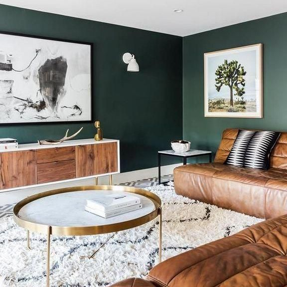 37 The 5 Minute Rule For Emerald Green Accent Wall Inspiredeccor Livingroomdecor Living Room Designs Green Accent Walls Living Room Color Schemes