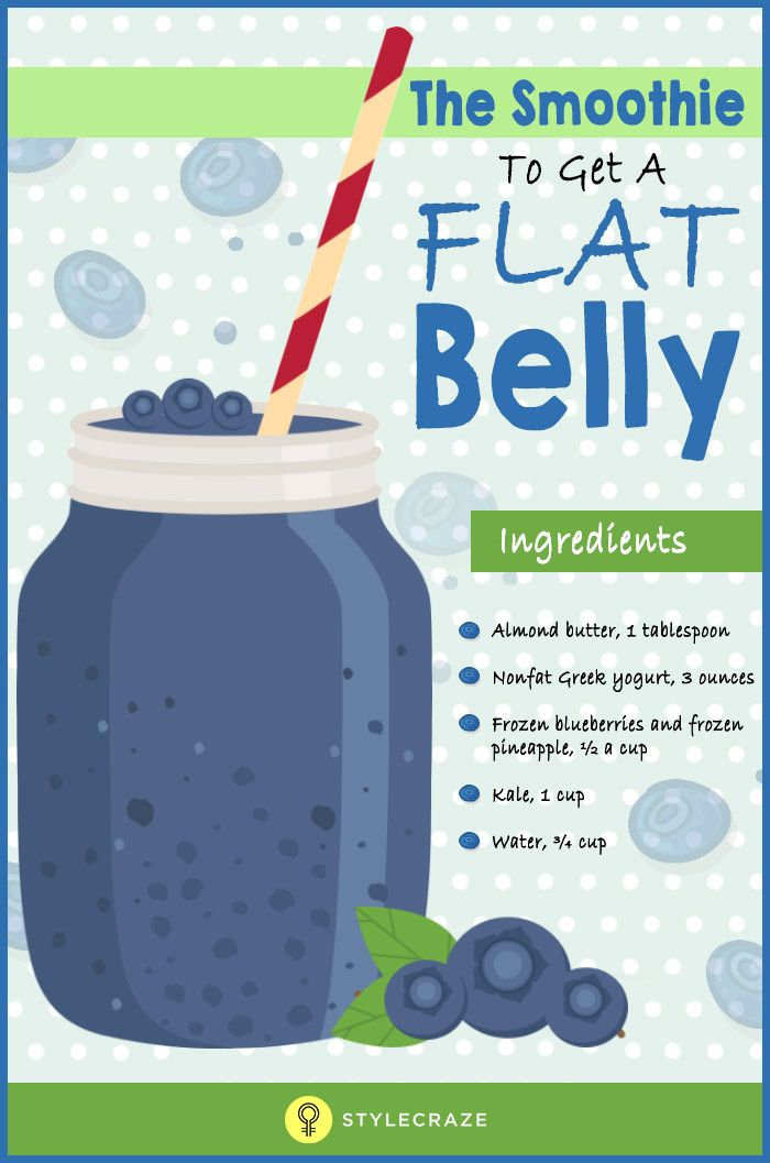 If you are wondering what could be that one smoothie (apart from exercising, obviously) that can give you a flat belly, then congratulations – you have come to the right place!