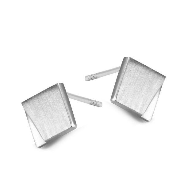 Studio Y: srebrne kolczyki