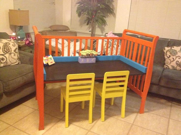 193 best Home Decor: Old Cribs, Changing Tables, & Springs images on ...