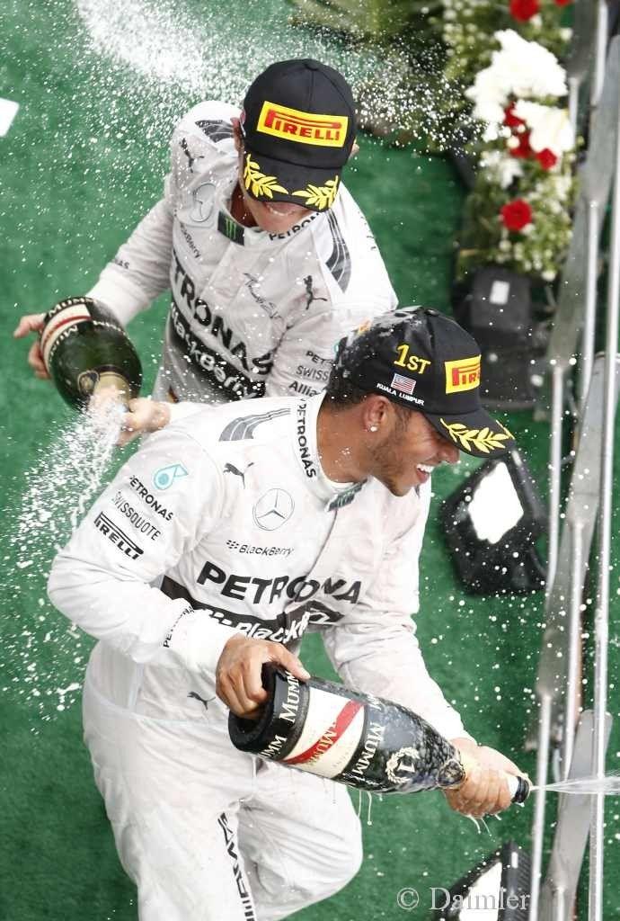 Malaysia Formel 1 GP: Doppelsieg für MERCEDES AMG PETRONAS
