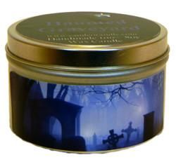 Haunted Graveyard, 6oz Soy Candle Tin