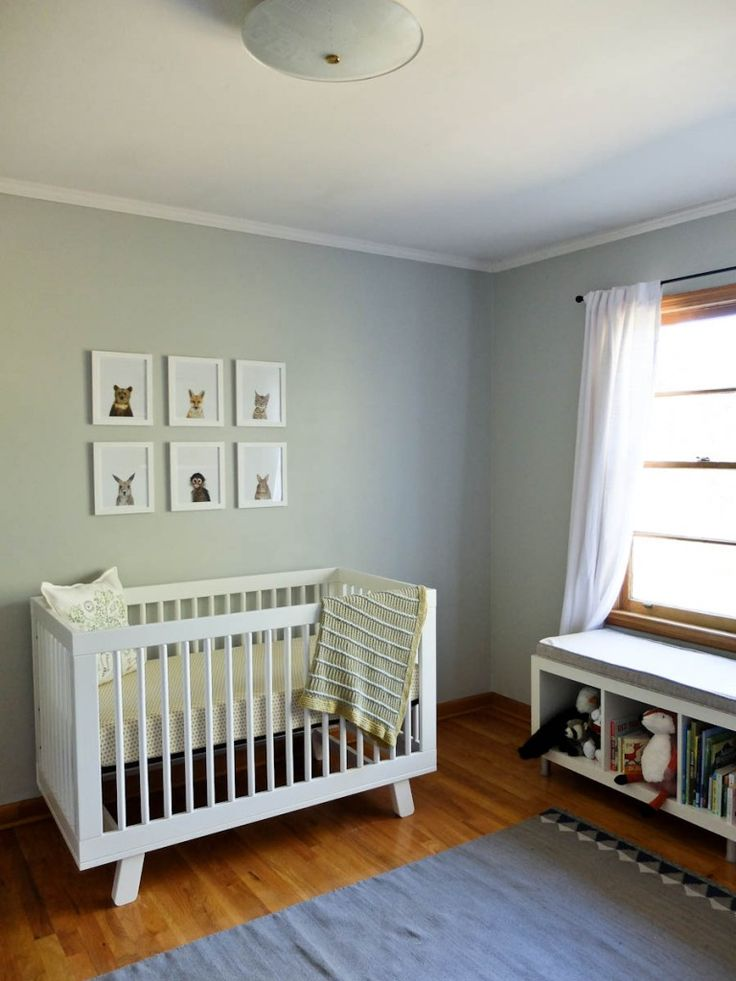 baby boy nursery or gender neutral nursery