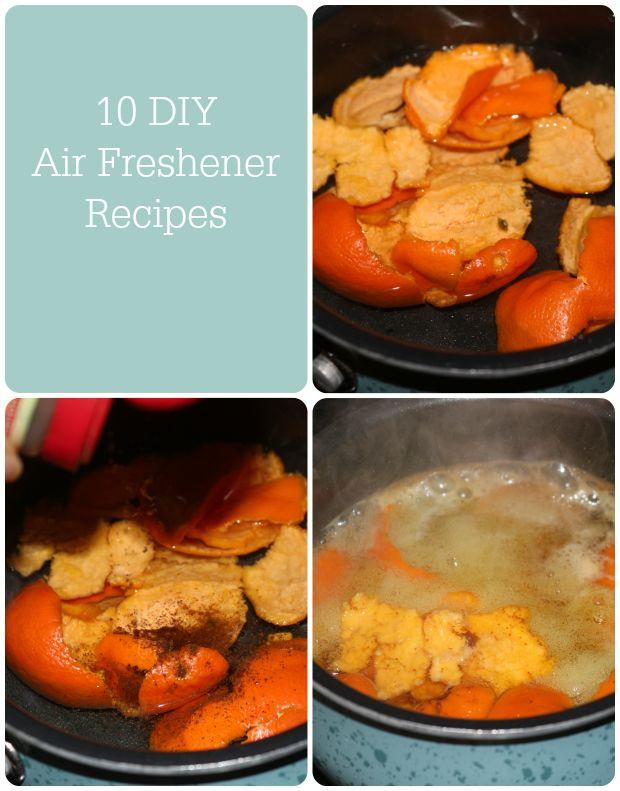 10 #DIY Home Air Freshener Recipes