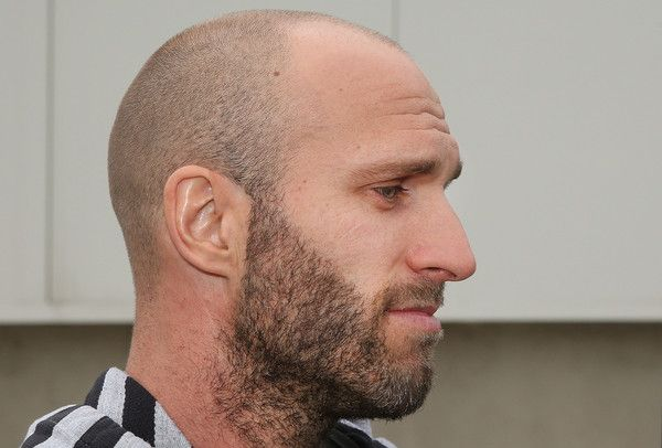 Chris Judd Photos Photos - Chris Judd of the Blues speaks to the media after the sacking of Blues head coach Michael Malthouse during a Carlton Blues AFL press conference at Ikon Park on May 26, 2015 in Melbourne, Australia. - Carlton Blues Press Conference