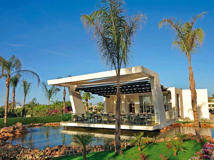 Exterior: Captains Deck Restaurant In Ayia Napa Cyprus