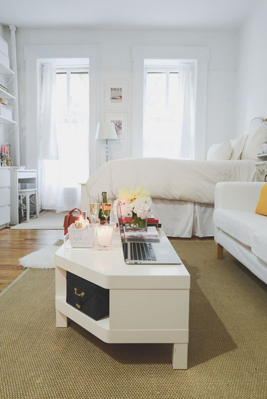 New York City Studio Apartment Tour #theeverygirl