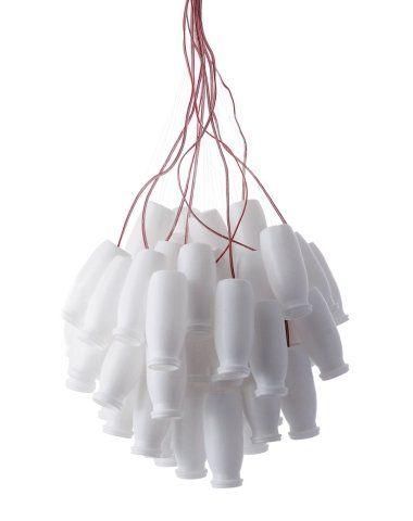 SK POMYSLY - idea :: spójrzmy wokól siebie, co można z niczego zrobić \ LAMP bottles after actimel | design by DARIA BURLINSKA - dbwt
