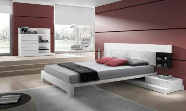 die besten 20 wei es kopfteil ideen auf pinterest sch ne schlafzimmer graues schlafzimmer. Black Bedroom Furniture Sets. Home Design Ideas