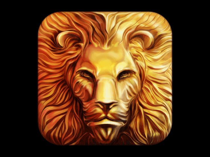 Lion iOS Icon Design Process by Ramotion
