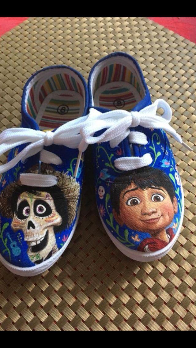 9c226959f31a Disney Coco custom shoes