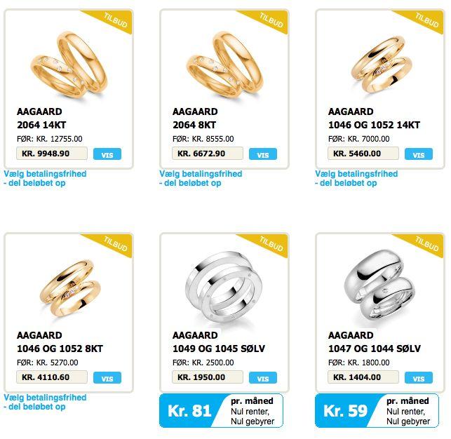 Køb #vielsesringe og #forlovelsesringe online hos Jyderup #Smykker
