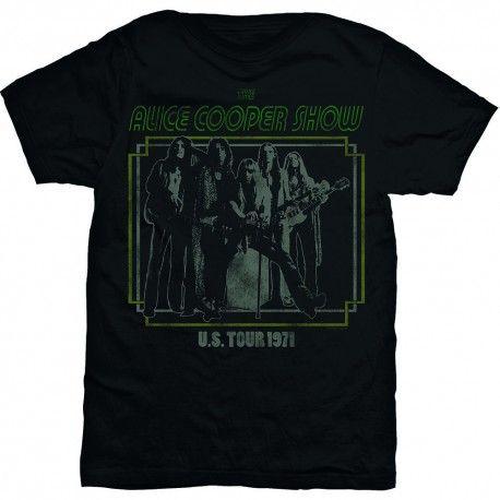 Tricou Alice Cooper: US Tour 1971