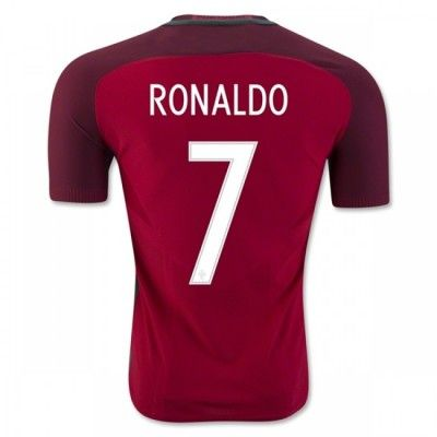 Portugal 2016 Cristiano Ronaldo 7 Hjemmebanetrøje Kortærmet.  http://www.fodboldsports.com/portugal-2016-cristiano-ronaldo-7-hjemmebanetroje-kortermet-1.  #fodboldtrøjer