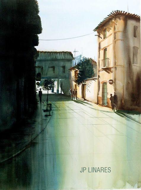 Juan P. LINARES - Pintor: ACUARELA REF: 1771609