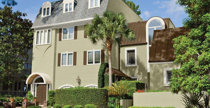 31 Best House Exterior Colors Images On Pinterest Exterior Colors House Exteriors And