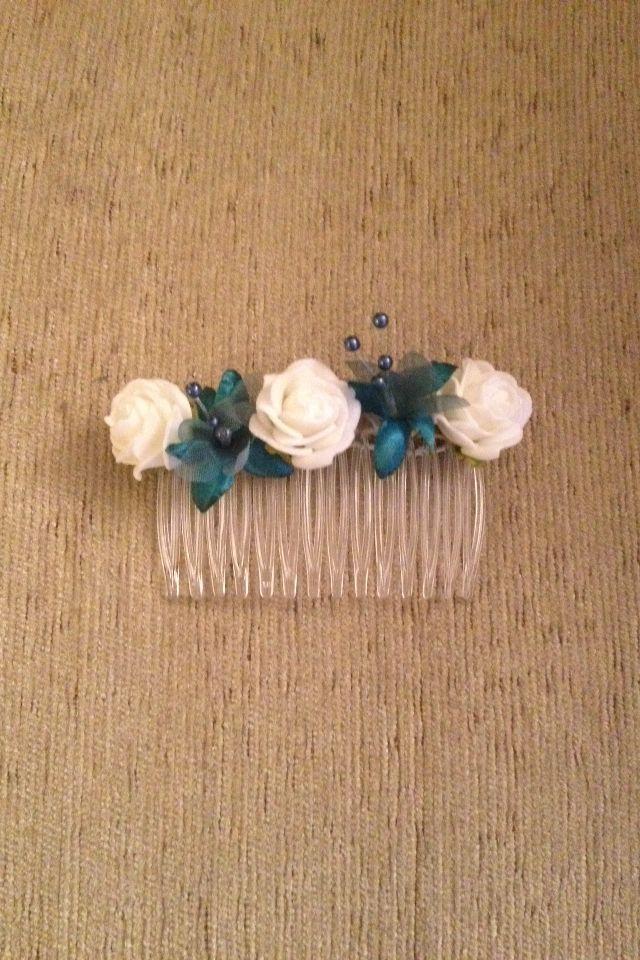 Bridesmaids hair slide x