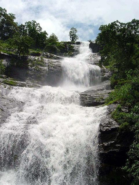 Cheeyappara Waterfalls, Kerala, India