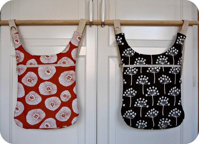 bolsos-mochila con telas de Lotta Jansdotter