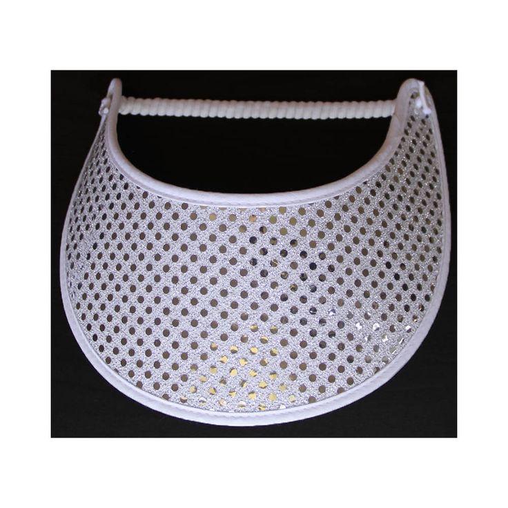 Confetti Glitz - Silver on white