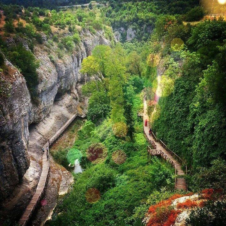 Safranbolu Tokatlı Kanyonu -Karabük / TÜRKİYE..