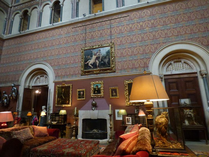 """The Great Hall of Eastnor Castle was used for """"The Eligible Bachelor"""""""