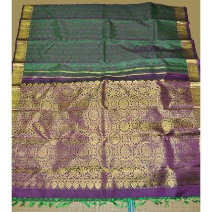 Kanchipuram Pure Silk Saree (KNC-VKM-001)