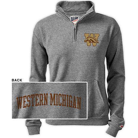 Product: Western Michigan University Women's 1/2 Zip Top