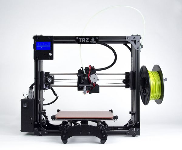 Aleph Objects Announces LulzBot TAZ 5 3D Printer and Partnership with Filament Suppliers | FILACART BLOG | 3D Printing MegaStore  https://filacart.com/blog/aleph-objects-announces-lulzbot-taz-5-3d-printer-and-partnership-with-filament-suppliers/