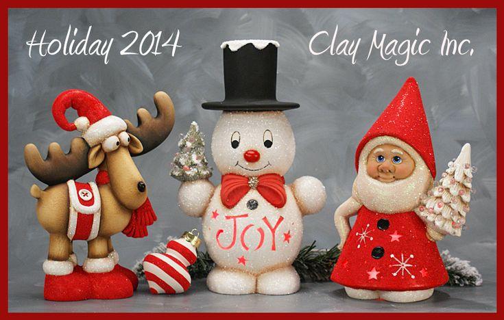 Clay Magic - Gallery....el reno me encanta