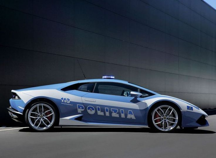 Be afraid, be very very afraid. Check out this 610-horsepower Huracan Polizia. Click to be blown away... #Lambo #spon