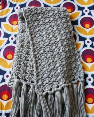 Madamecreatief.com - Gehaakte sjaal