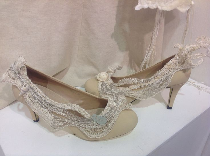 Shoes on display at K&S show London