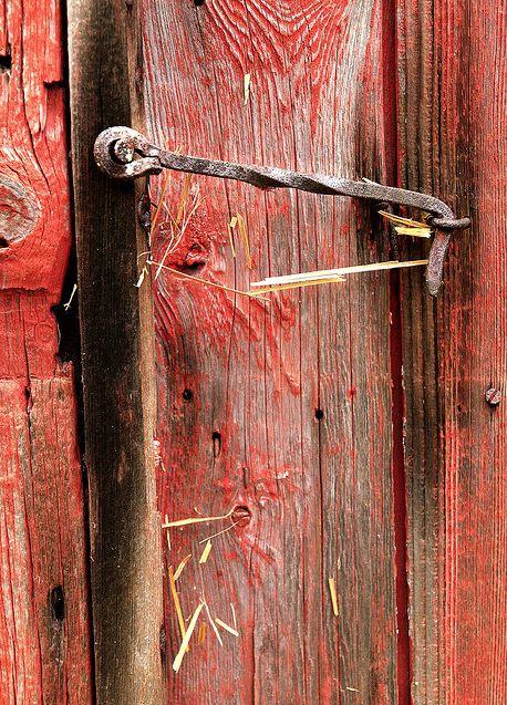 Antique barn door cabin hook by bvriesem