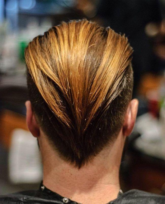 Duck Tail Cortes En V In 2019 Hair Cuts V Cut Hair Mens