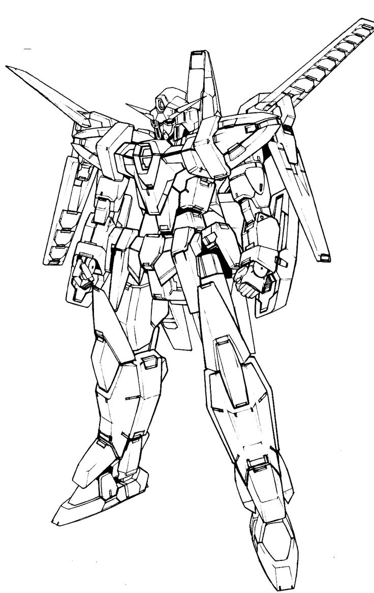 Gundam Wing Coloring Pages Unique Pin by Sheng Jin On ...