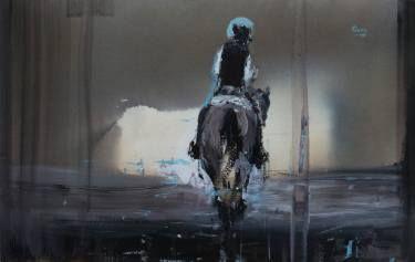 """Saatchi Art Artist OSCAR ALVAREZ; Painting, """"C-22"""" #art"""