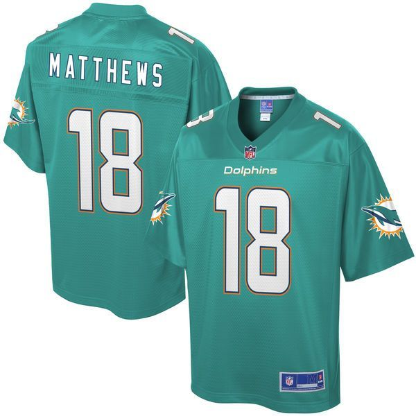 Men's Miami Dolphins Rishard Matthews NFL Pro Line Big & Tall Team Color Jersey - $124.99