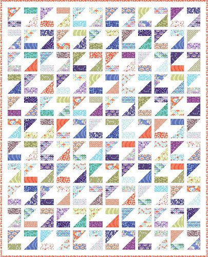 """Maybe if I make this """"Z"""" quilt for my 2 year old, it will inspire her to sleep more? : )"""