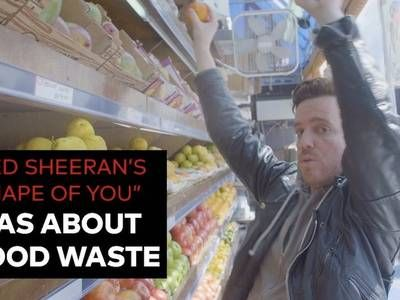 Ed Sheeran's popular song The Shape of You now has an environmental version