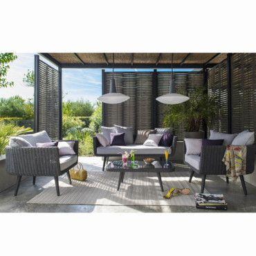 lut est l zoom sur les plus beaux salons de jardin de la with castorama paravent retractable. Black Bedroom Furniture Sets. Home Design Ideas