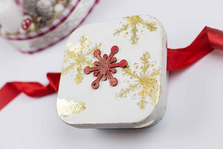 Karácsonyi dobozalbum // Christmas photo box