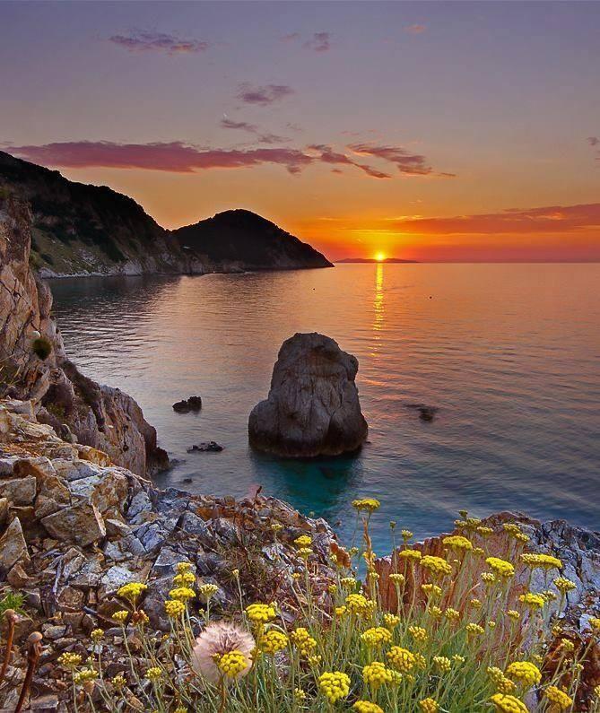 Elba Island, Italy.