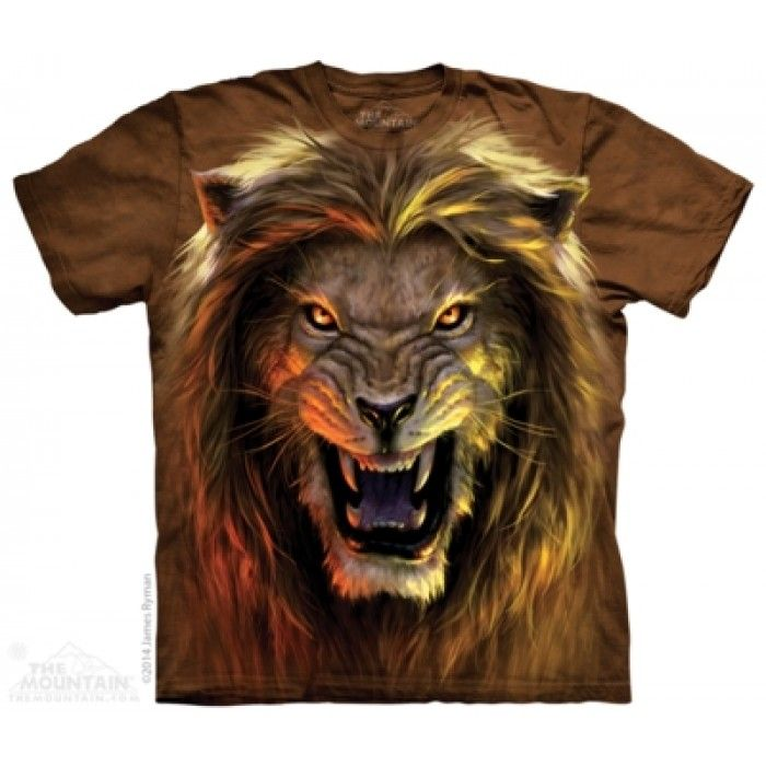 Tricouri The Mountain – Tricou Beast – Lion
