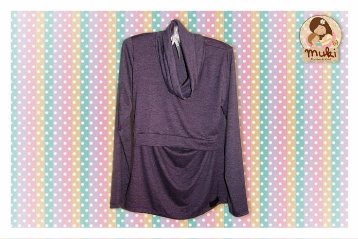 Blusas maternales y para amamantar Otoño- Invierno, elaboradas en algodón Tallas: S, M, L $14.990